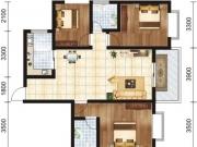 凤凰香郡二期 捌号院111.05户型3室2厅2卫111.05㎡