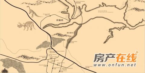 祥源湾交通图