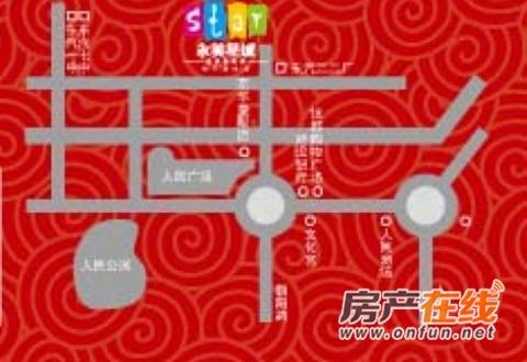 永美星城4期交通图