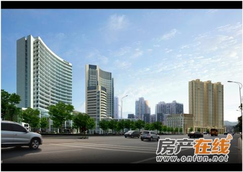 上海路金座效果图