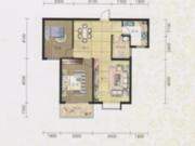碧水方圆11#K5户型2室2厅1卫94.22㎡