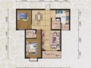碧水方圆12#K2户型2室2厅2卫2阳台97.66㎡