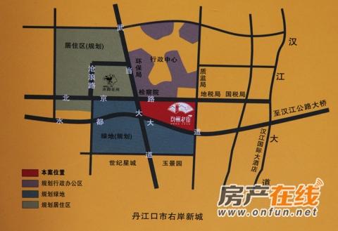 均州老街交通图