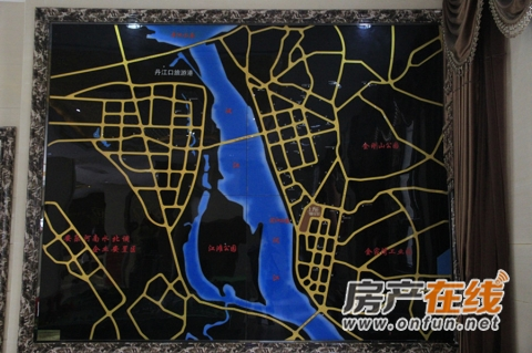 上海花园交通图