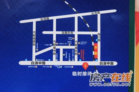 龙门广场交通图