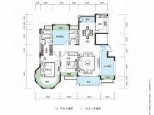 大洋五洲F2-1户型4室2厅2卫 153.12㎡