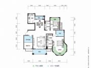 大洋五洲G2-2户型3室2厅2卫132.13㎡
