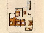 和昌国际城三期三期1户型4室2厅2卫200㎡