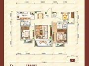 东方一品D户型3室2厅2卫109.34㎡