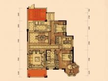 卢浮宫里尔②户型3室2厅2卫2阳台 118.67㎡