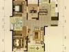 A户型3室2厅2卫2阳台 139.78㎡