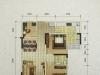 A-2户型2室2厅1卫1阳台 92.59㎡