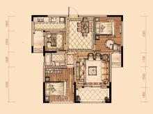 卢浮宫5户型3室2厅1卫1阳台 103.3㎡