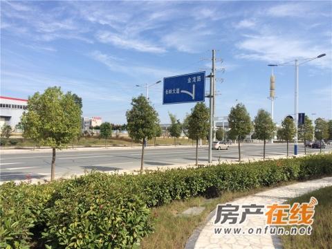 郧阳光彩产业园实景图