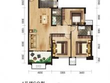 唐城中岳汇C户型3室2厅2卫 127.23㎡