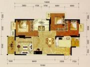 国瑞蓝山郡B4户型3室2厅2卫2阳台128.31㎡