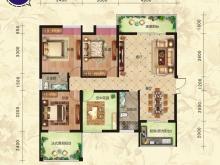 金煌天津港C户型4室2厅2卫2阳台 120.88㎡