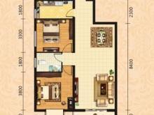 泰康花园7-E户型2室2厅1卫1阳台 94.25㎡