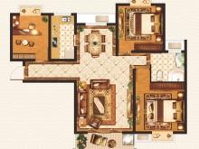 外滩1号B-3户型3室2厅1卫1阳台 105.93㎡