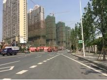 万达广场交通实景
