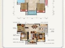 金色礼赞3-B户型2室2厅1卫1阳台 96.47㎡