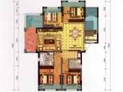 百强世纪城D2-1户型4室2厅2卫1阳台139.53㎡