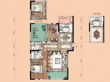 卢浮宫C3户型3室2厅2卫2阳台 118.92㎡