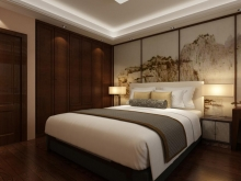 翰林世家禧园135.3平米样板间卧室