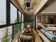 翰林世家禧园135.3平米样板间阳台