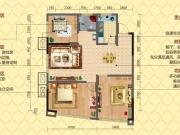 凤凰香郡三期·传奇B2户型2室2厅1卫101㎡