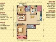 凤凰香郡三期·传奇A户型3室2厅2卫2阳台114.04㎡