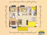 蓝宝湾5户型3室2厅2卫2阳台123.3㎡
