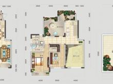 四方新城·匠园E户型3室2厅1卫3阳台 264.88㎡