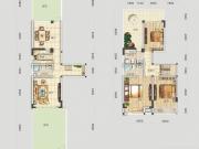 四方新城·匠园A户型4室3厅3卫3阳台145.62㎡