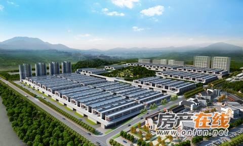 佰昌·鄂西北优质农产品交易中心效果图