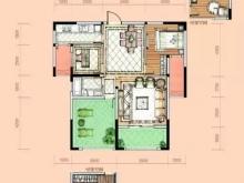 卢浮宫C2户型2室2厅1卫1阳台 95㎡