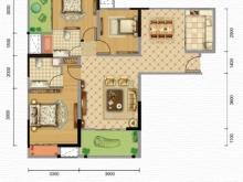凯旋·煌境A户型3室2厅2卫2阳台 112㎡