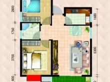 民生国际B2B3/C2C3户型2室2厅1卫1阳台 80.59㎡