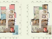 泰山绿谷D户型4室2厅2卫2阳台 117.42㎡