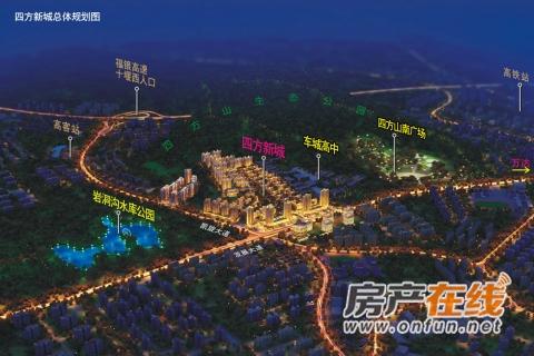 四方新城·匠园交通图