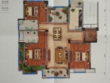 藏珑墅院E1户型3室2厅2卫5阳台 119.96㎡