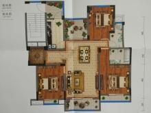 藏珑墅院E2户型3室2厅2卫5阳台 125.40㎡