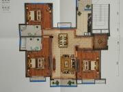 藏珑墅院F1户型3室2厅2卫4阳台117.10㎡