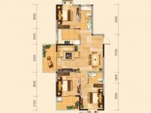 兴丽城C1户型3室2厅2卫2阳台 139.7㎡