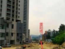 金港旺座2017-5金港路修建动工了