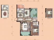 卢浮宫C1户型3室2厅2卫1阳台 117.61㎡