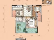 卢浮宫B户型3室2厅1卫2阳台 100.14㎡