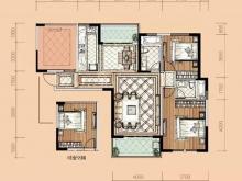 卢浮宫B5户型3室2厅2卫1阳台 117㎡