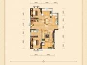 兴丽城D7户型3室2厅2卫1阳台116㎡