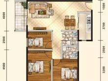 五堰新天地E2/E5户型3室2厅2卫2阳台 111.8㎡